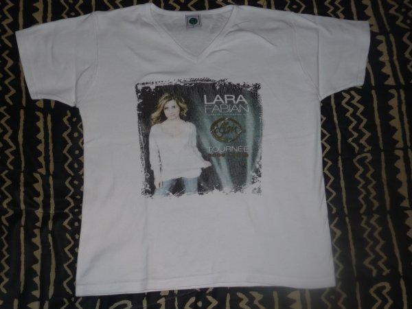"T-shirt Lara Fabian tour ""TLFM"""
