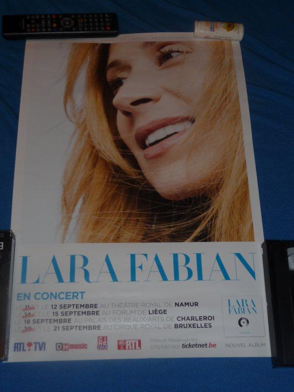 """Affiche 'Le secret """" 2013 Lara fabian"""
