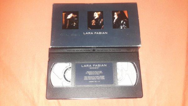 "K7 vidéo clip Lara Fabian ""Adagio"""
