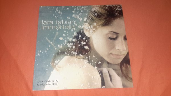 "plan média Lara Fabian ""Immortelle "" version 2"
