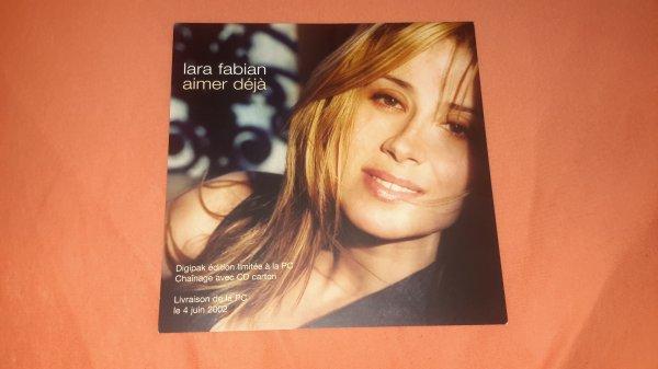 """plan média Lara Fabian """"Aimer déjà """""""