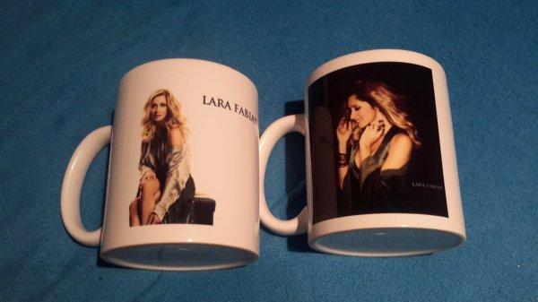 """mugs tournée """"Ma vie dans la tienne """""""