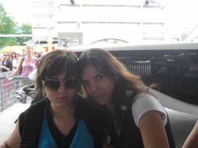 Moi et Ma Nite soeur ( à Disneyland)