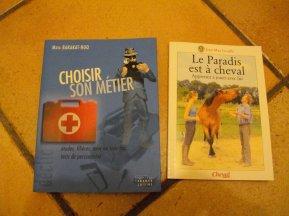 livre sur les métiers et les chevaux