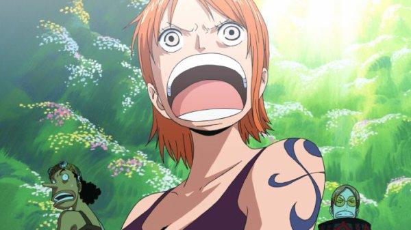 One Piece: Film 7 - Le mecha géant du château Karakuri - Le lièvre et la tortue façon Luffy