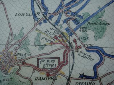 Longlier - Hamipré : la bataille.