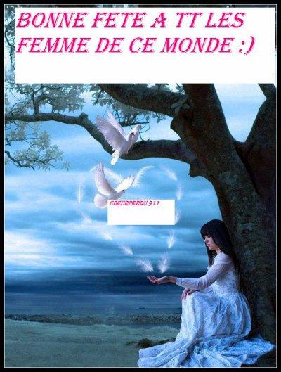 Poème à l'occasion du 8 Mars..Je dédie ce poème aux FEMMES, à celles qui font que le monde devient beau .