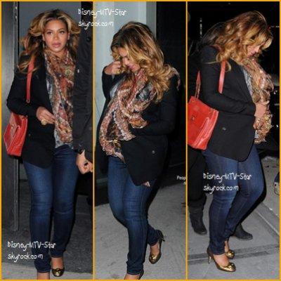 Beyonce Knowles a été apercu dans les rues de New York