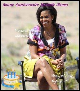 Joyeux anniversaire Michelle Obama! 20 choses vous ignorez sur la première dame Américaine