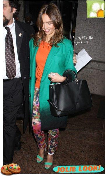Jessica Alba : drôle de mixture colorée