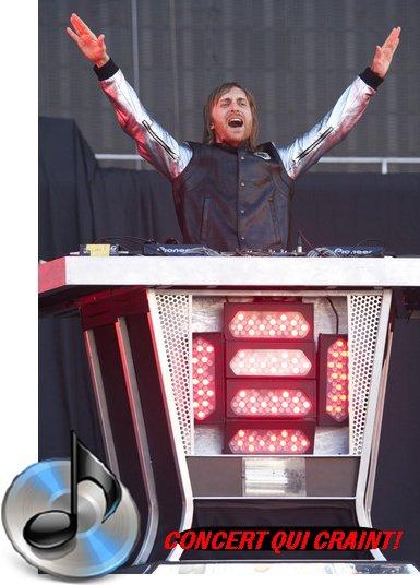 David Guetta : Le concert qui craint...