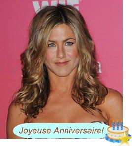 Joyeux anniversaire Jennifer Aniston! 43 choses que vous ignorez sur la star
