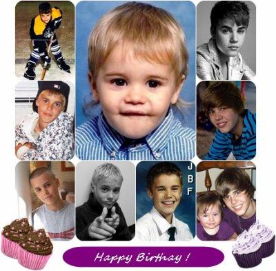 Joyeux anniversaire Justin Bieber !! ♥♥♥ . 18 choses sur Justin
