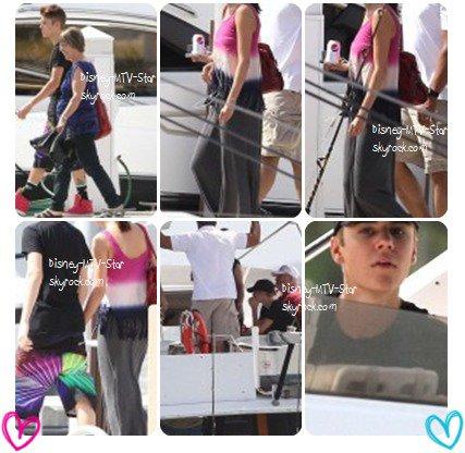Justin Bieber et Selena Gomez, réunis en Floride, vont à la pêche.