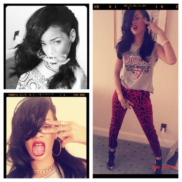 Rihanna: Nouveau Style & nouvelle photo