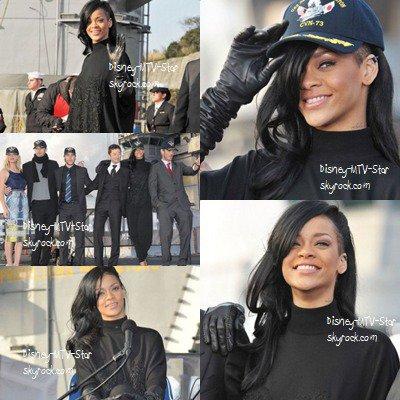 Rihanna : Toute en sobriété pour présenter Battleship au Japon