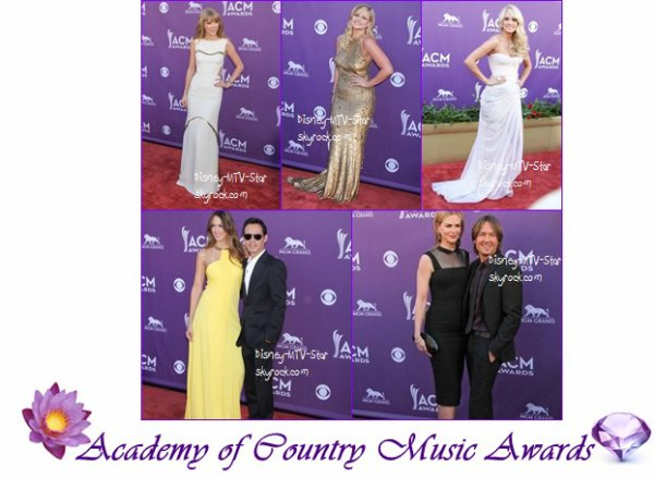 Le tapis rouge des Academy of Country Music Awards ♥