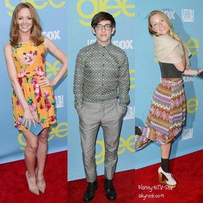Les stars de Glee réunies à Hollywood