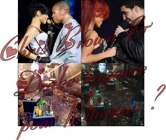 Chris Brown & Drake bagarre !