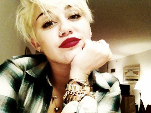 Nouveau look de Miley !
