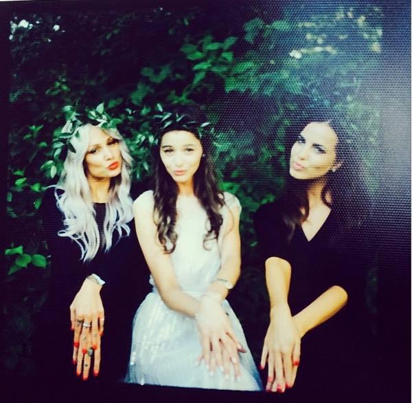 Lou, Eleanor et sophia