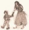 Chapitre Deuxième : Gavroche au secours de sa soeur
