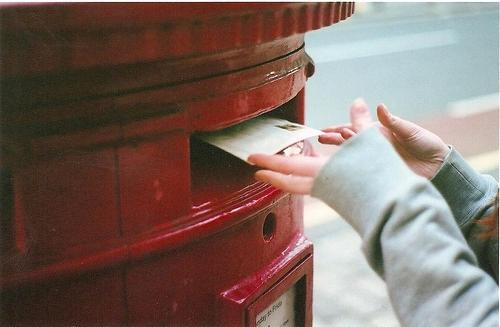 Une lettre..
