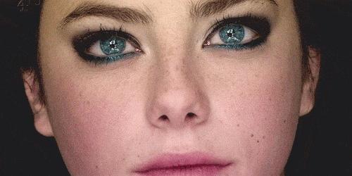 Les yeux, les fenêtres de l'âme...