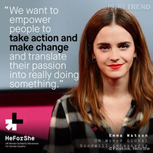 HeForShe, a fight, a revolution
