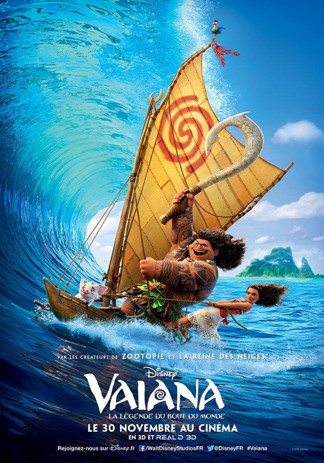 [film] Vaiana, la légende du bout du monde