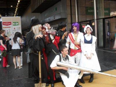 Japan Expo 11 éme impacte jour 4