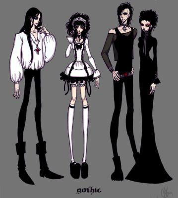 Les Différents Looks Gothiques