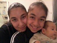 m 2 tante déborah et rebecca et mon fére nathanael