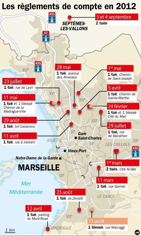 quartier nord marseille carte TROP DE MORT A MARSEILLE    Grand Ensemble Marseille quartiers