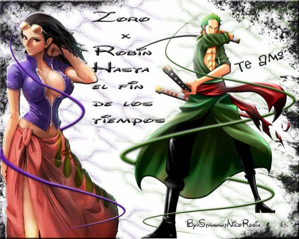 Blogue de roronoazoromasterofsword one piece plus sur zoro et robin - Robin 2 ans plus tard ...