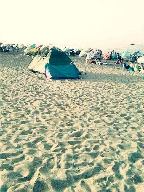 sur plage
