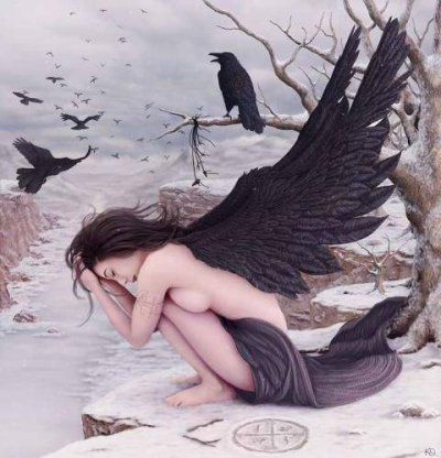 ange  noir.....