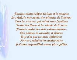Des Poeme Danniversaire Pour Te Souhaiter Un Bon