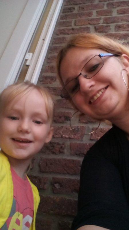 Ma fille et mois