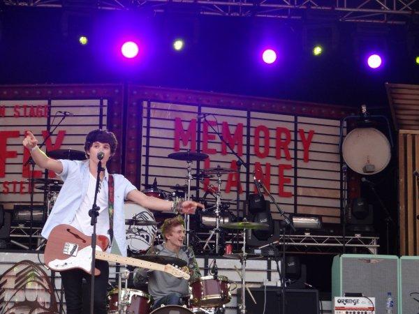 Gloucester 13.06.13 Bradley Will Simpson & James Daniel McVey