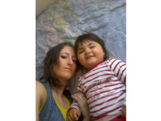 ma fille cherie et son petit cousin david
