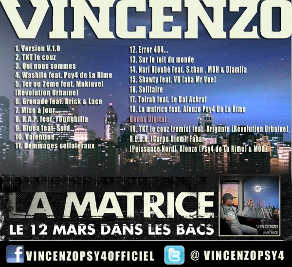 Vincenzo - La Matrice