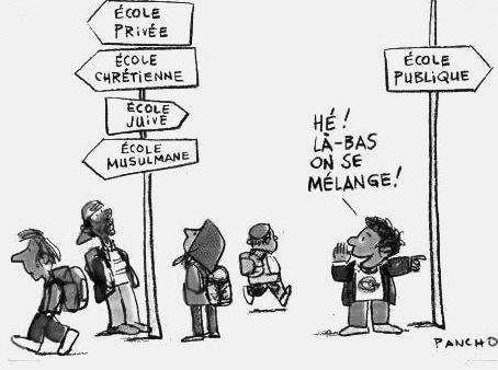 LE SERMENT DE JULES FERRY. COPIE D'UN ELEVE DE 1° S.