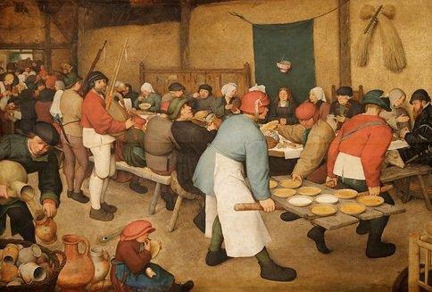 Scènes de repas dans le roman. Corpus de textes. Rabelais, Flaubert, Zola et Maupassant.