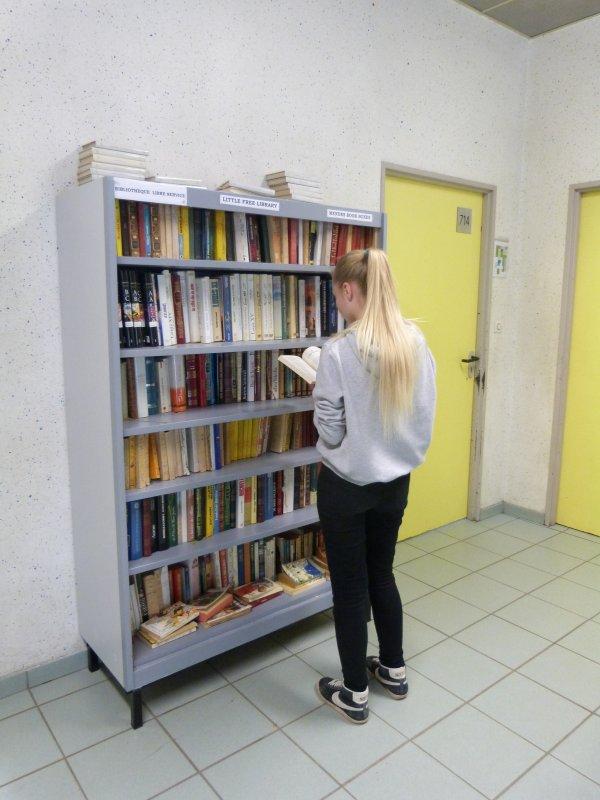 BIBLIOTHEQUE DE RUE AU LYCEE