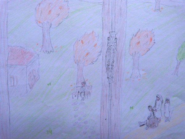 Complainte d'un autre dimanche. Jules Laforgue. Extraits des copies et dessins des élèves.
