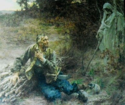 COMMENTAIRE DU CURE ET LE MORT DE LA FONTAINE