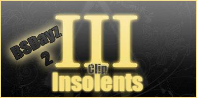 "BSDayz 2 + Clip ""Insolents feat Alibi Montana"""