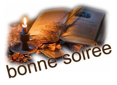 BONNE SOIREE MES AMI(ES)
