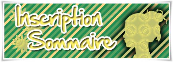 Inscription - Sommaire